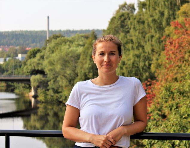 Erika Hällström, rekryterare och konsultchef på KFX i Sundsvall